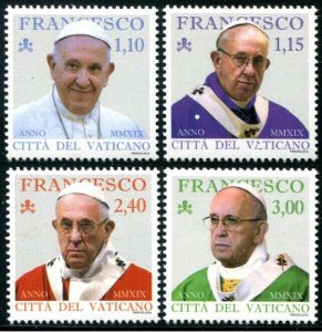 HERRICKSTAMP NEW ISSUES VATICAN CITY Pope Francis 2019