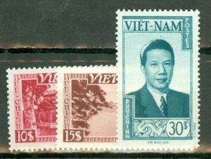 BD: Vietnam 1-13 mint CV $93; scan shows only a few
