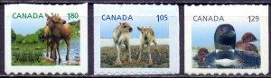 Canada. 2012. Fauna moose birds. MNH.