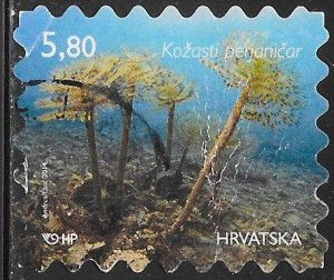 Croatia 902c  Used - Marine Life - European Fan Worm (Sabella spallanzanii)