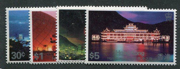 Hong Kong  #415-18     Mint VF NH