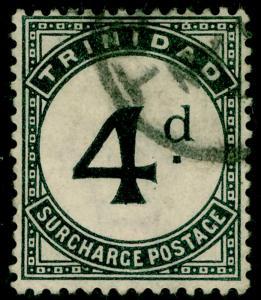 TRINIDAD AND TOBAGO SGD5, 4d slate-black, used.