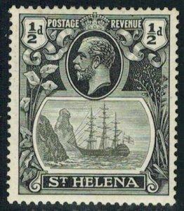 Saint Helena Scott 79 Unused lightly hinged.