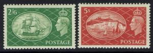 Great Britain SG# 506 - 510 - Mint Light Hinged - Lot 062616