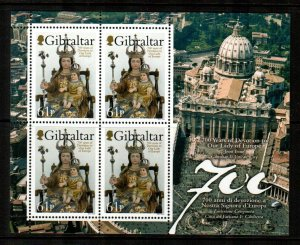 Gibraltar #1182  MNH  Scott $18.00   Sheet of 4
