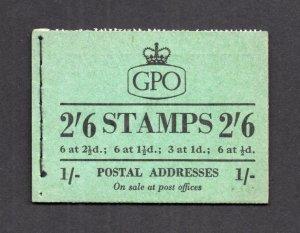 2/6 BOOKLET APRIL 1954 Cat £65