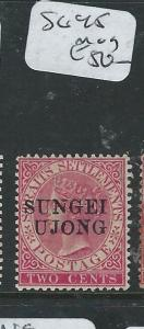 MALAYA SUNGEI UJONG (P0610B) 2C QV  SG 45  MOG