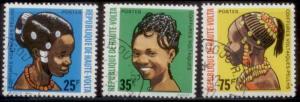 Upper Volta 1972 SC# 272-4 CTO L282-3