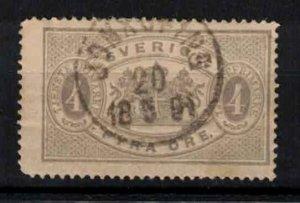Sweden - SGO29a - 4 ö Official perf.13 - CV 3.50£