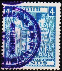 New Zealand. 1931 £4 S.G.F210 Fine Used