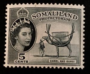 Somaliland Protectorate Scott 128 QEII Definitive-Mint NH