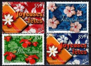 French Polynesia #817-20  MNH  CV $6.30  (X7380)