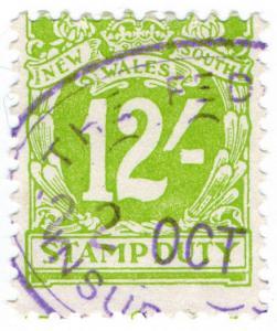 (I.B) Australia - NSW Revenue : Stamp Duty 12/-