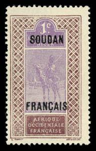 French Sudan 21 Mint (NH)