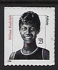 Catalog # 3436 Single Stamp Wilma Rudolph Athlete Olympian Track