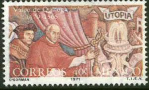 MEXICO 1032 500th Anniv of the birth of Vasco de Quiroga MINT, NH. VF.