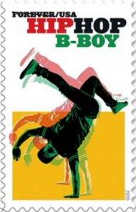 US 5481 Hip Hop B-Boy forever single (1 stamp) MNH 2020 after 7/15
