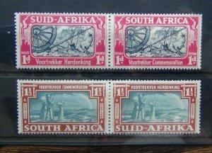 South Africa 1938 Voortrekker Commemoration set MM