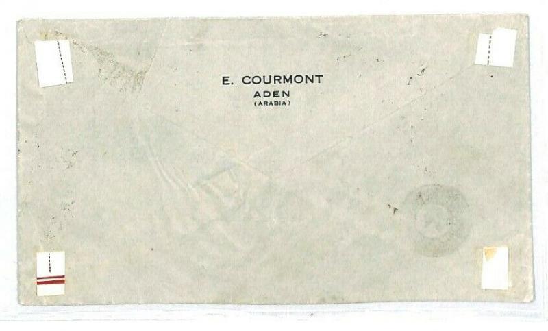 ADEN *Camp* USA Boston UNDERPAID Postage Due CENSOR 1940 WW2 {samwells} CW54