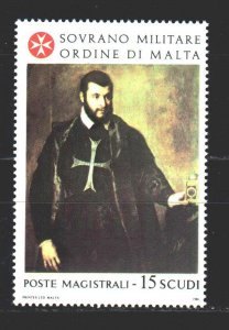 Order of Malta. 1986. 256. Painting, paintings. MNH.