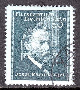 Liechtenstein - Scott #153 - Used - SCV $6.25
