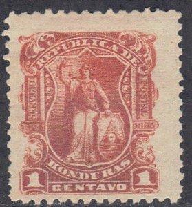 HONDURAS SCOTT #77 MH 1893  GENERAL  SEE SCAN