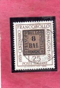 ITALIA REPUBBLICA ITALY REPUBLIC 1959 FRANCOBOLLI DELLE ROMAGNE CENTENARIO RO...