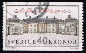 Sweden #1841 Ovedskloster Palace; Used (0.30)