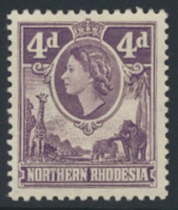Northern Rhodesia  SG 66  SC# 66 MH  see detail and scans