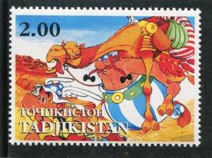 Tajikistan 2001 ASTERIX French Comics Book 1 value Perforated Mint (NH)