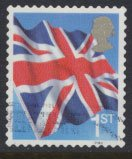 Great Britain SG 2570  SC# 2317  Used Smilers Booklet Union Jack