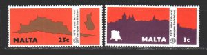 Malta. 1975. 515-17 of the series. Year of European Architectural Heritage. MNH.