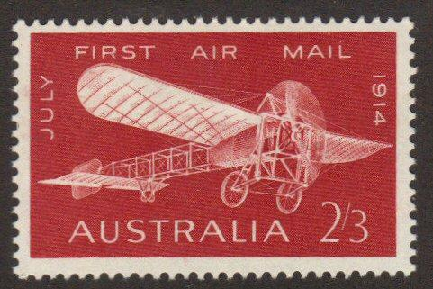 Australia #383 MH early plane