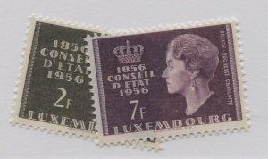 LUXEMBOURG  322-23  MNH