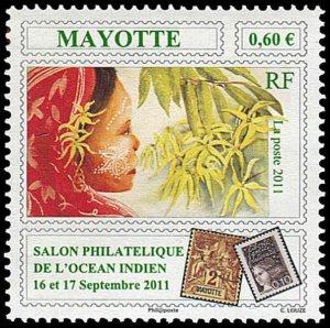 Mayotte 2011 #281 MNH. Philately