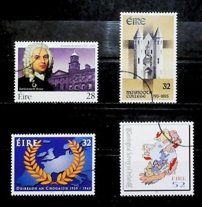 Ireland 1995  Anniversaries B. Mosse Maynooth College Used Full Set A22P20F9036