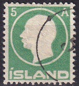 Iceland #92  F-VF Used CV $12.00  (Z7788)