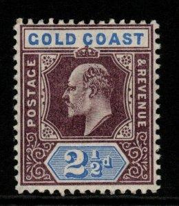 GOLD COAST SG52 1902 2½d DULL PURPLE & ULTRAMARINE MTD MINT