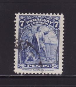 Paraguay 402 U Christopher Columbus, Explorer (A)