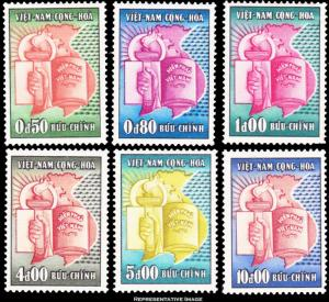 Vietnam Scott 73-78 Mint never hinged.