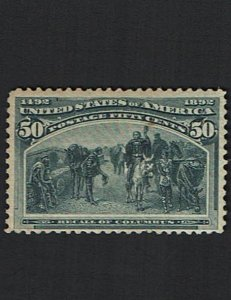 Scott #240 F/VF-OG-NH. SCV - $1,250.00