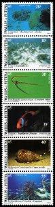 Wallis & Futuna Islands 1981 Scott #269a folded Mint Never Hinged