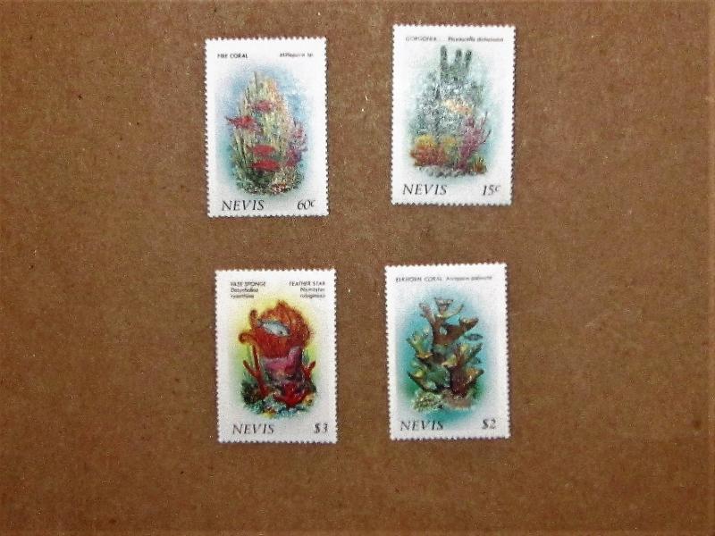 Nevis - 503-06, MNH Set. Coral. SCV - $2.85