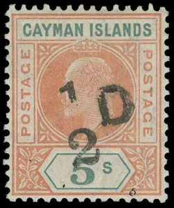 Cayman Islands Scott 18 Gibbons 18 Never Hinged Stamp