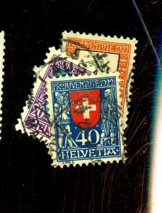SWITZERLAND #B21-4 USED FVF HR Cat $58