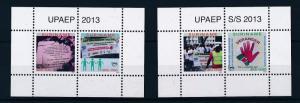 [SU1990] Suriname Surinam 2013 UPAEP 2 sheets MNH