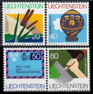 1983    Liechtenstein     824-27    Events & Anniversaries    2,50 €