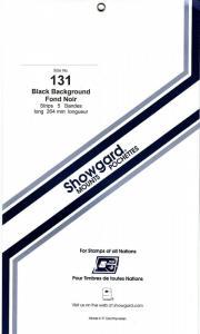 SHOWGARD BLACK MOUNTS 264/131 (5) RETAIL PRICE $11.95