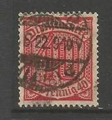 GERMANY O7 VFU Y297-6