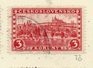 Czechoslovakia 1926-27 Issue Fine Used 3k. NW-148619